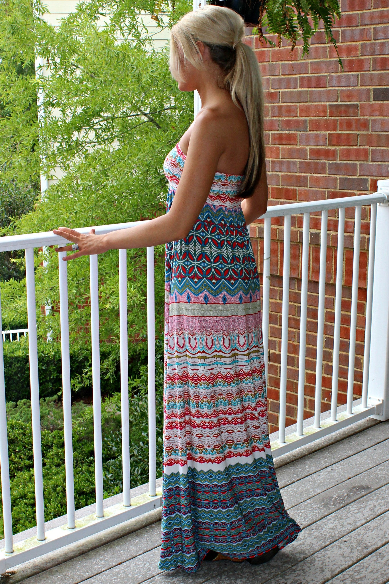 Glam: Misty Maxi Dress, Multi