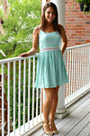 Everly: Tricia Dress, Mint