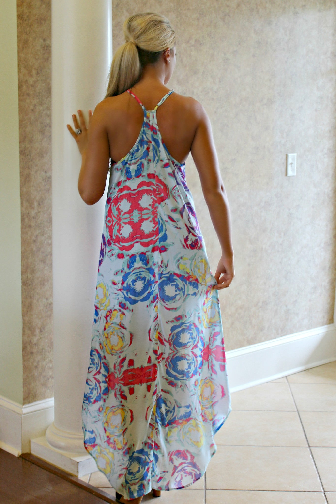 Glam: Lacie Maxi Dress, Mint