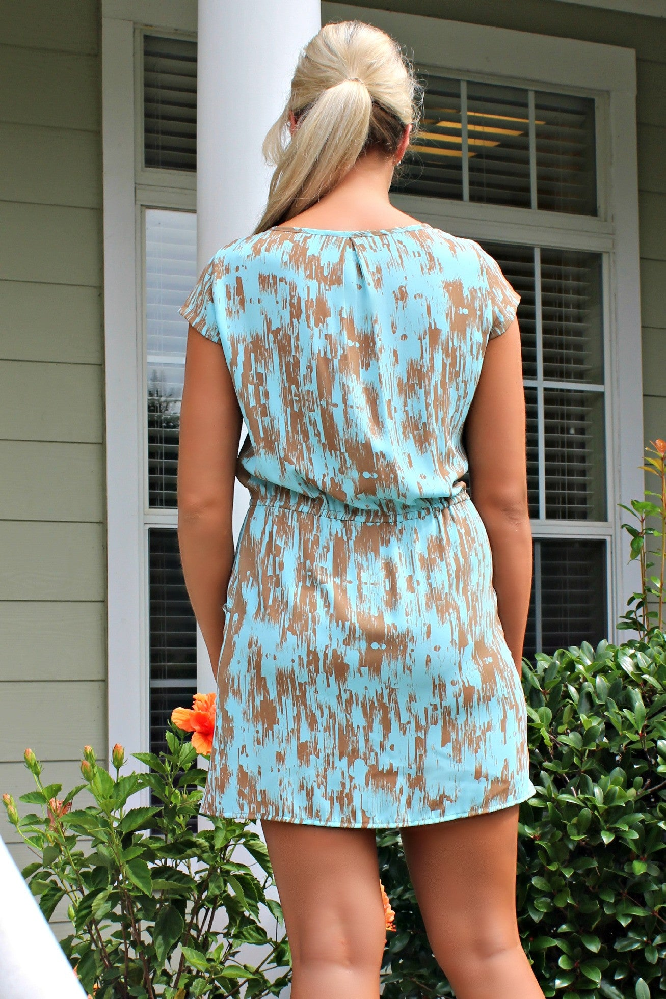 Glam: Karissa Dress, Blue