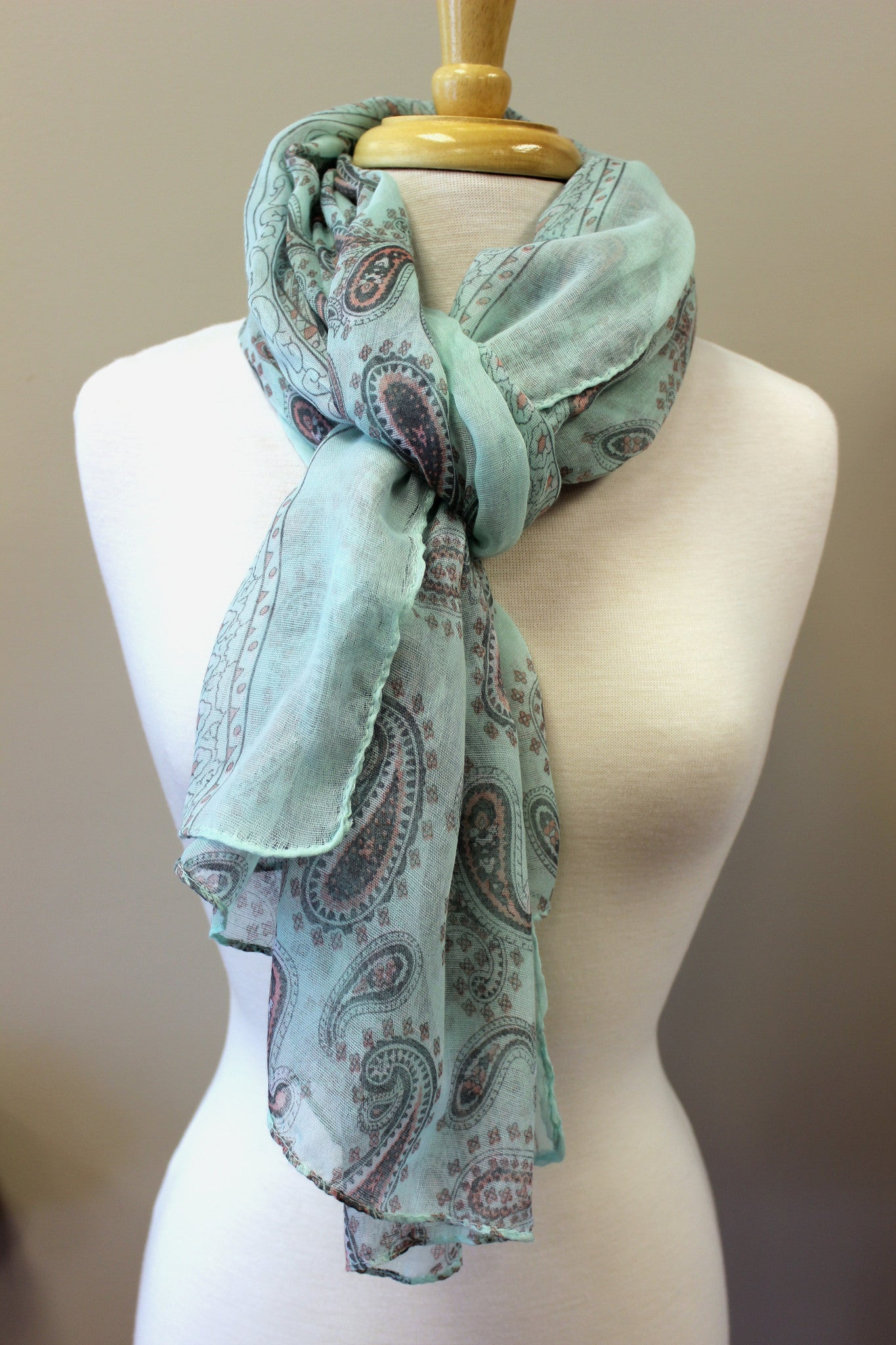 Fannie Scarf, Turquoise