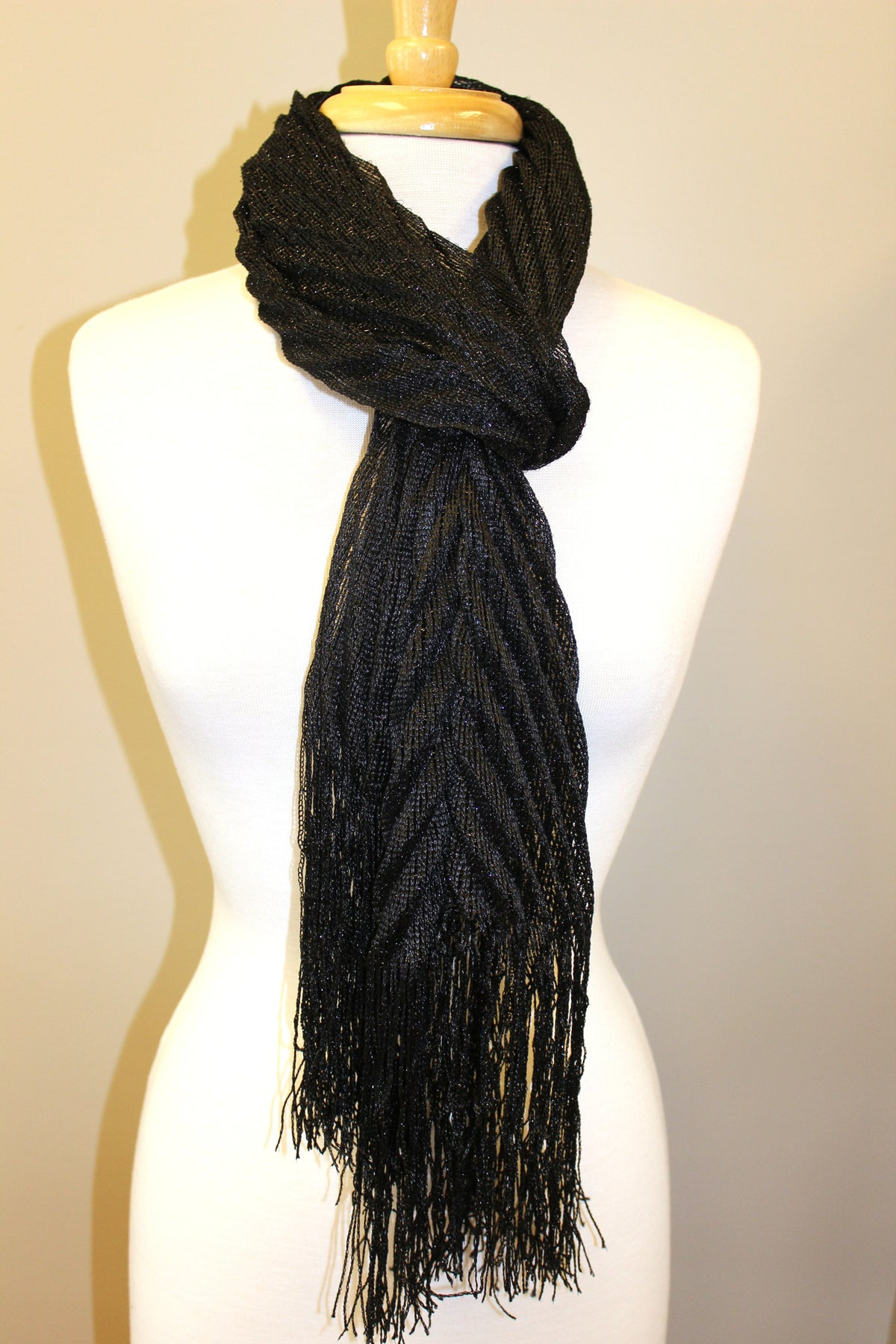Tilly Scarf, Black