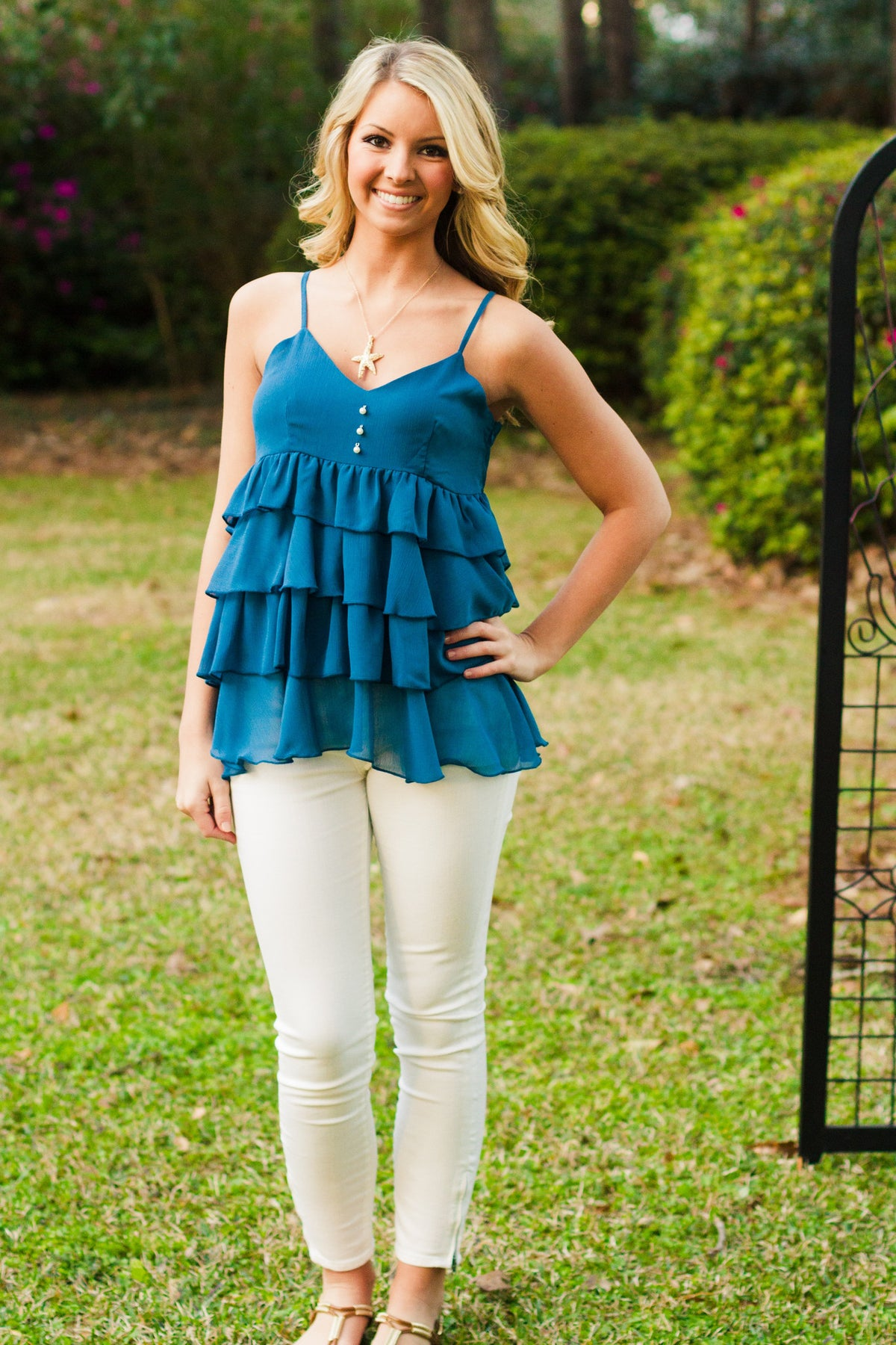 Samantha Top, Blue