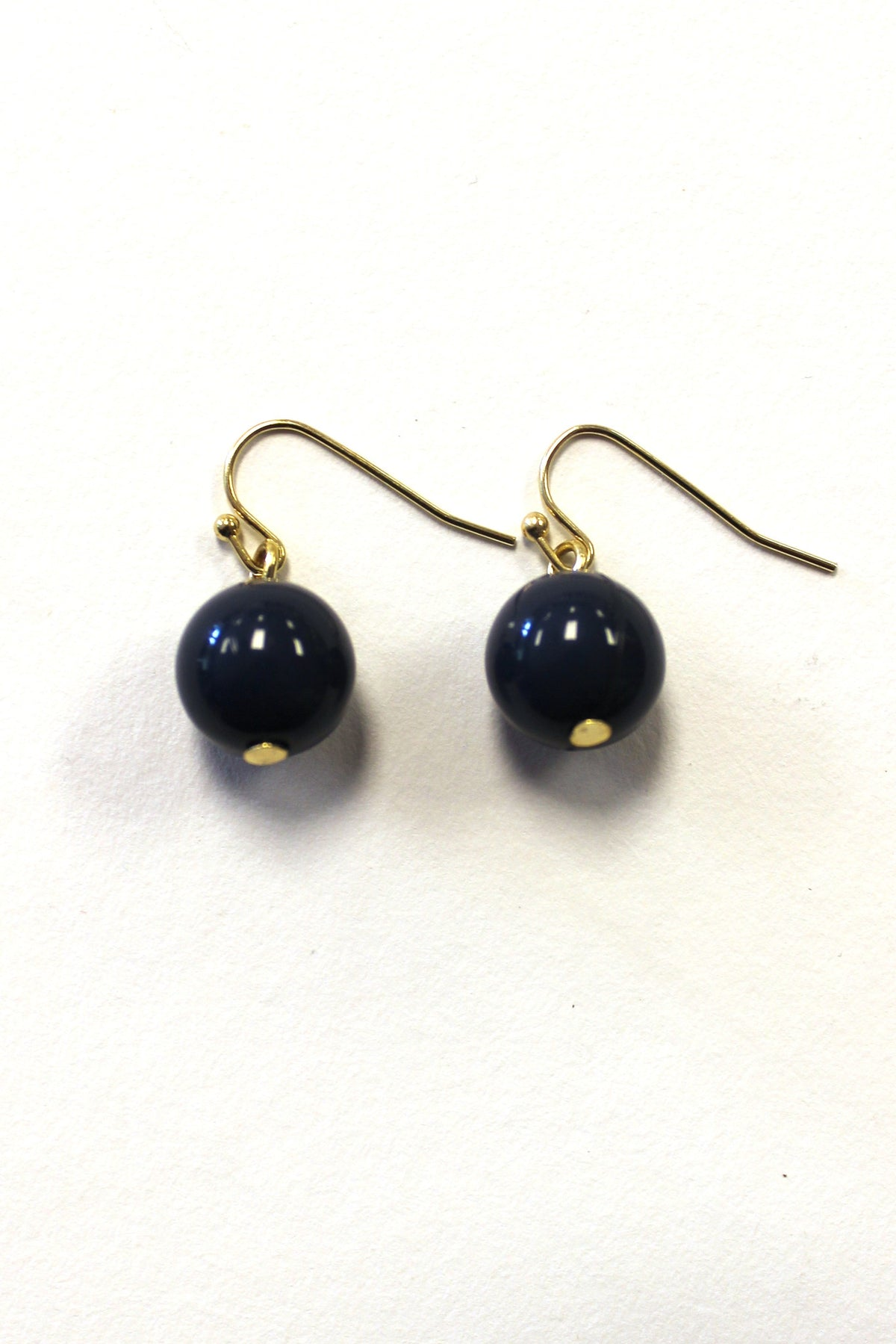 Navy Earrings