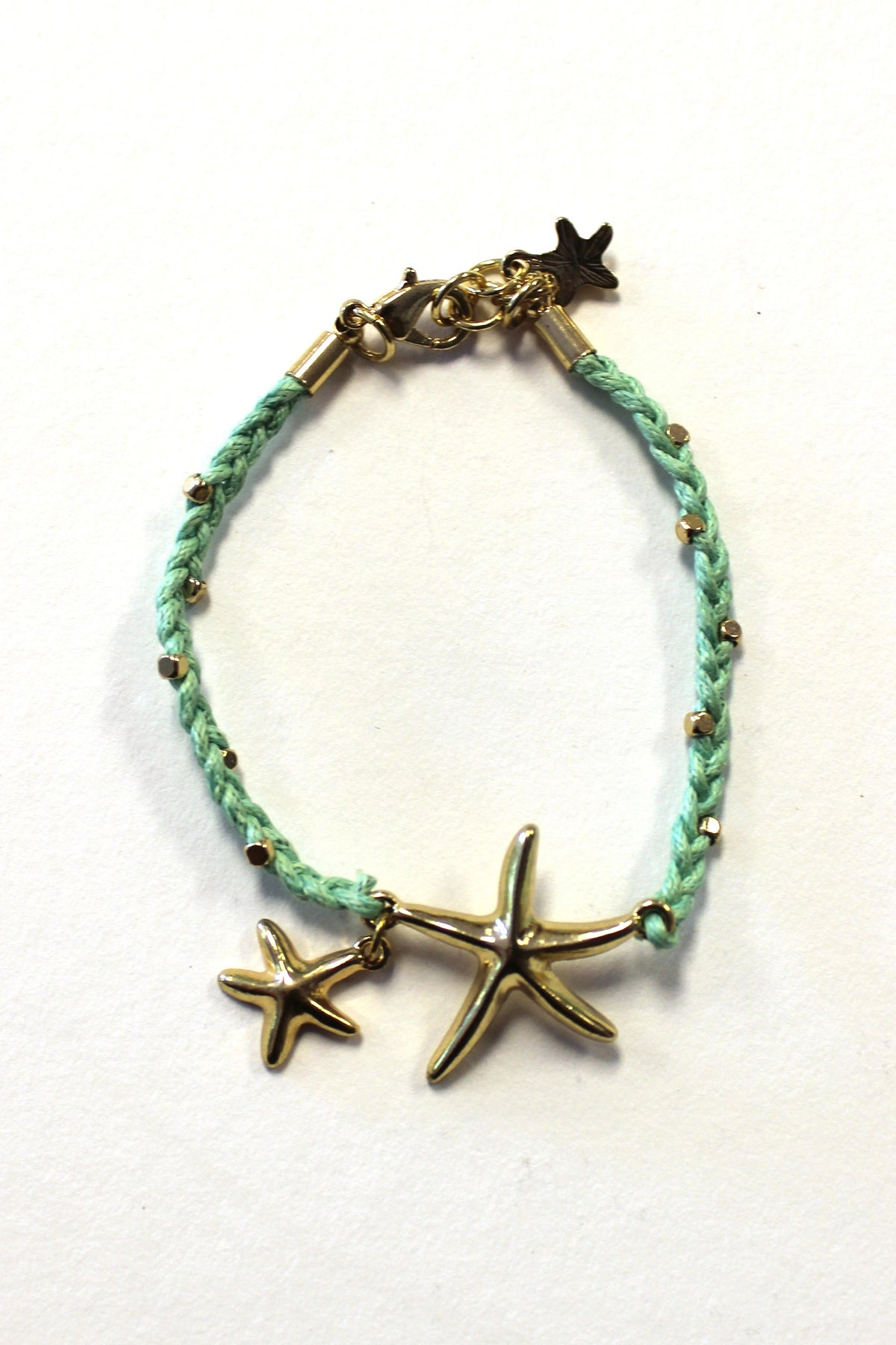 Sea Green Starfish Bracelet