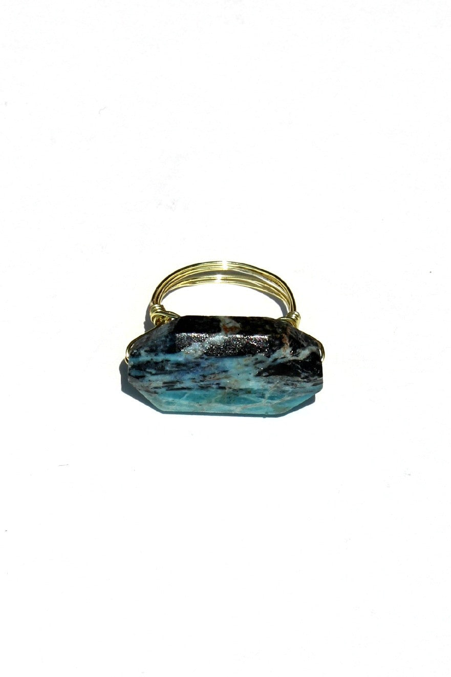 Swara Jewelry: Gemstone Ring, Turquoise
