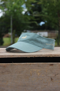 Southern Marsh: Visor, Olive with Tan