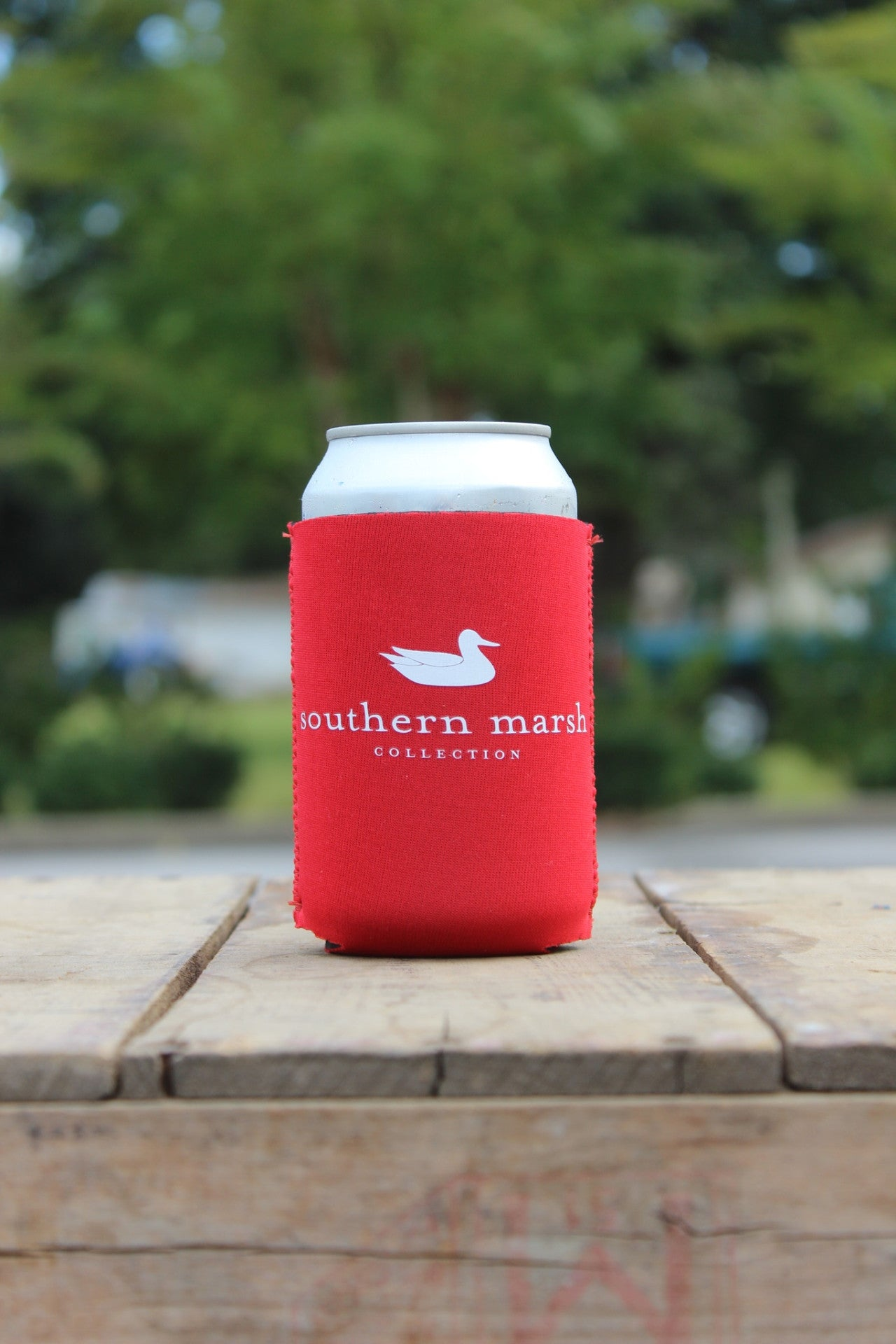 Southern Marsh: Southern Class Coozie, Red