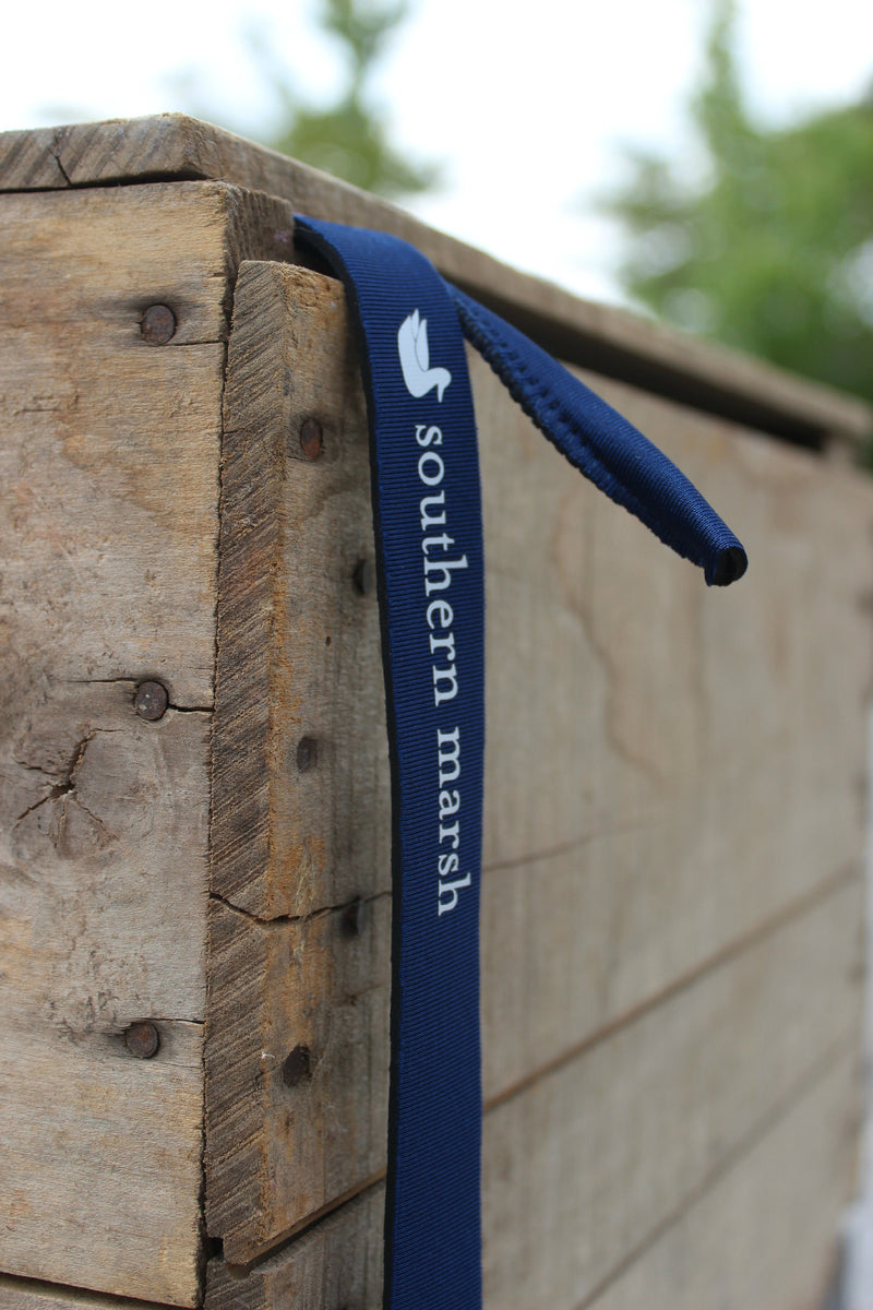 Southern Marsh: Solid Sunglass Strap, Navy