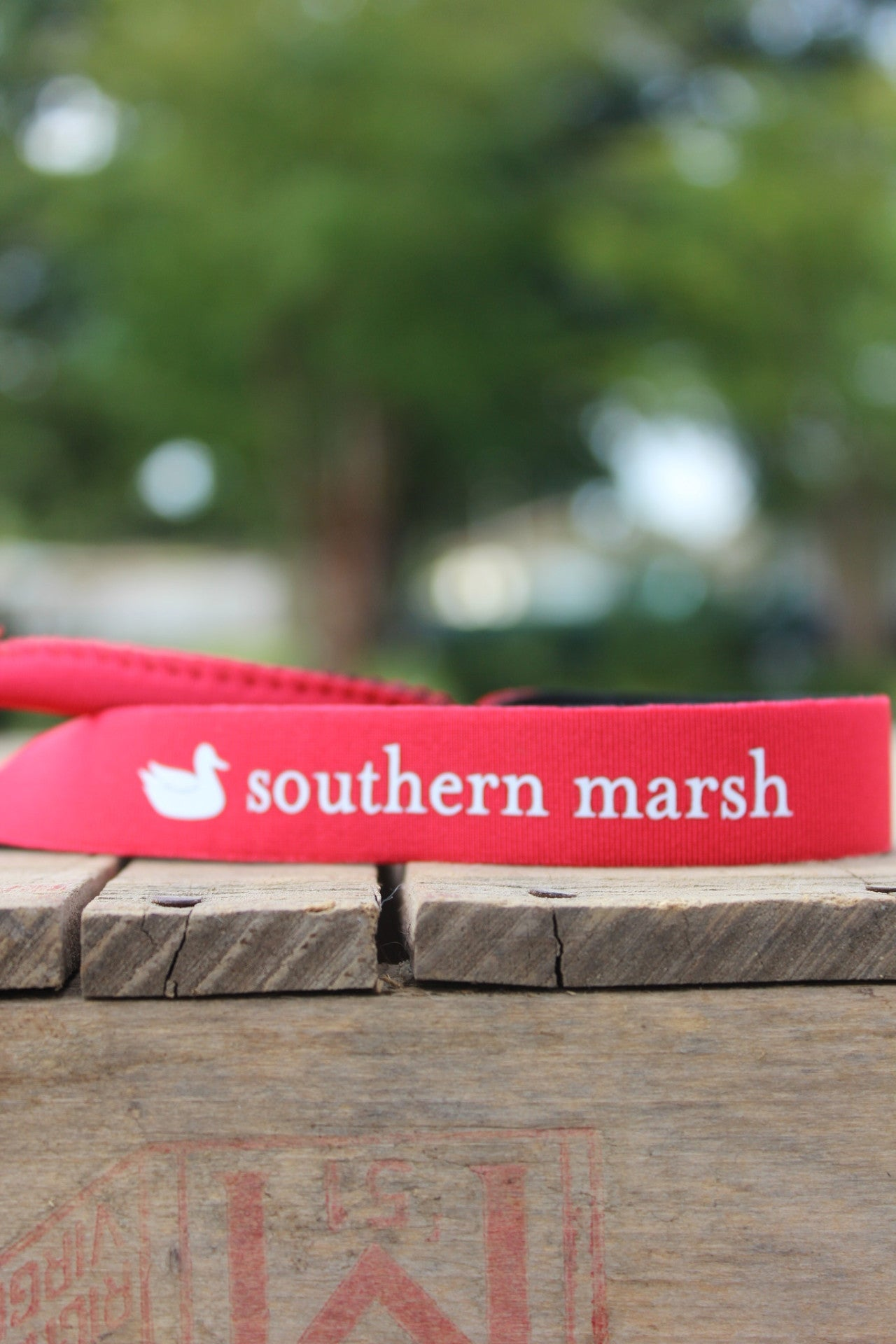Southern Marsh: Sunglass Strap, Red