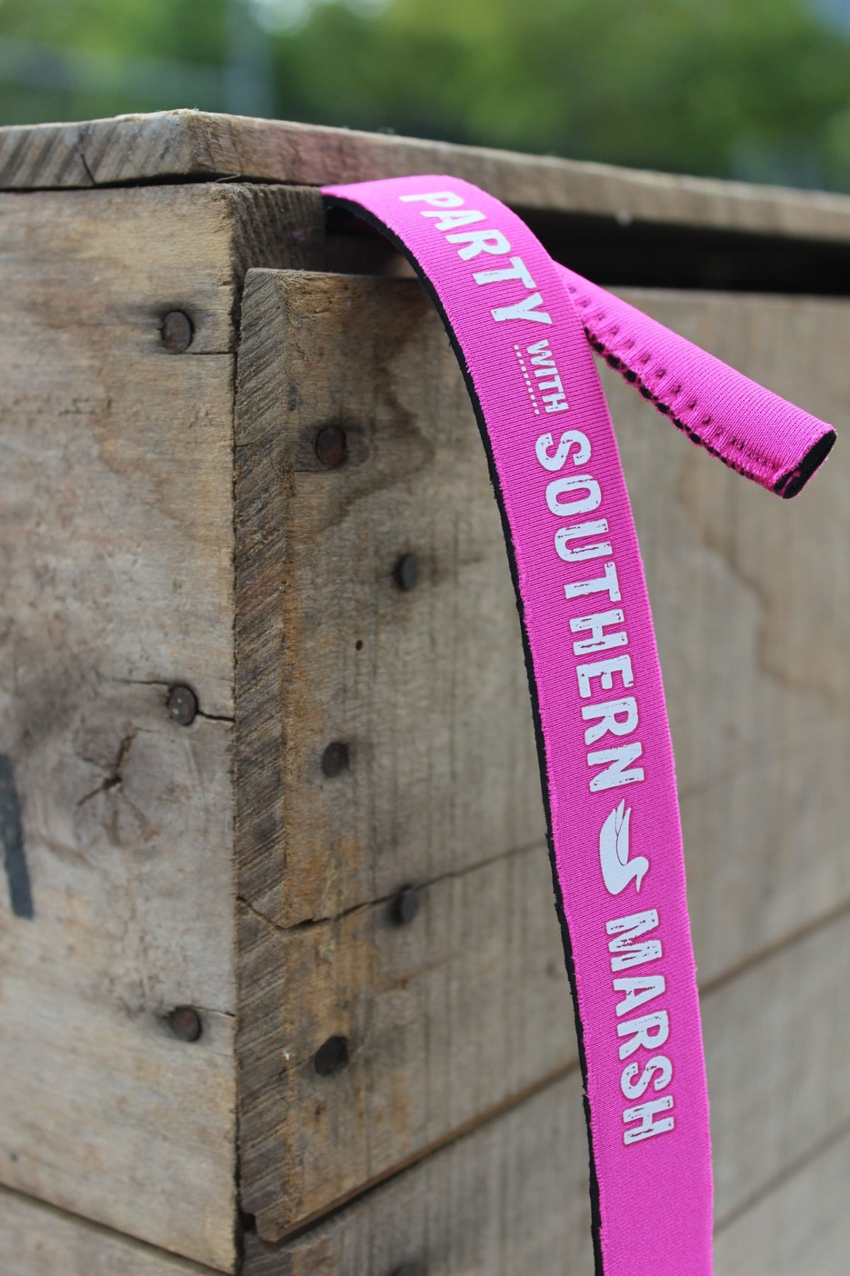 Southern Marsh: Party Sunglass Strap, Neon Pink