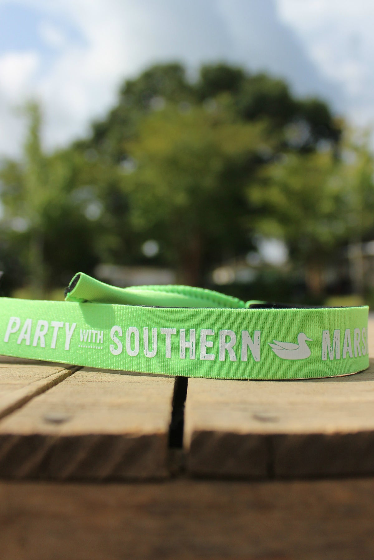 Southern Marsh: Party Sunglass Strap, Neon Green