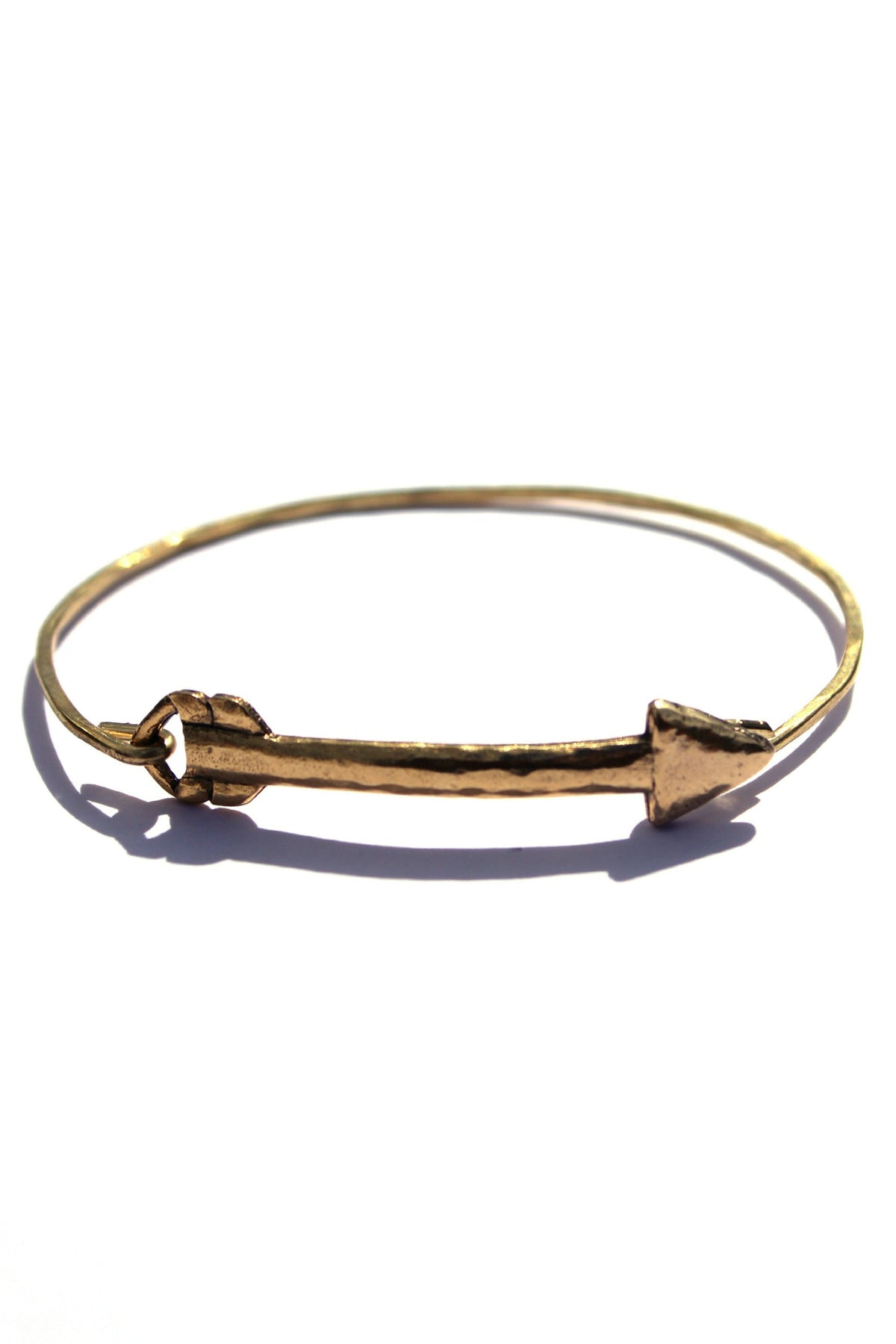Julio: Arrow Bracelet, Gold