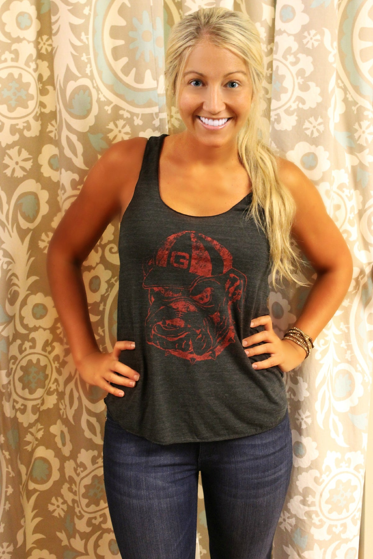 Judith March: University of Georgia Tank, Black