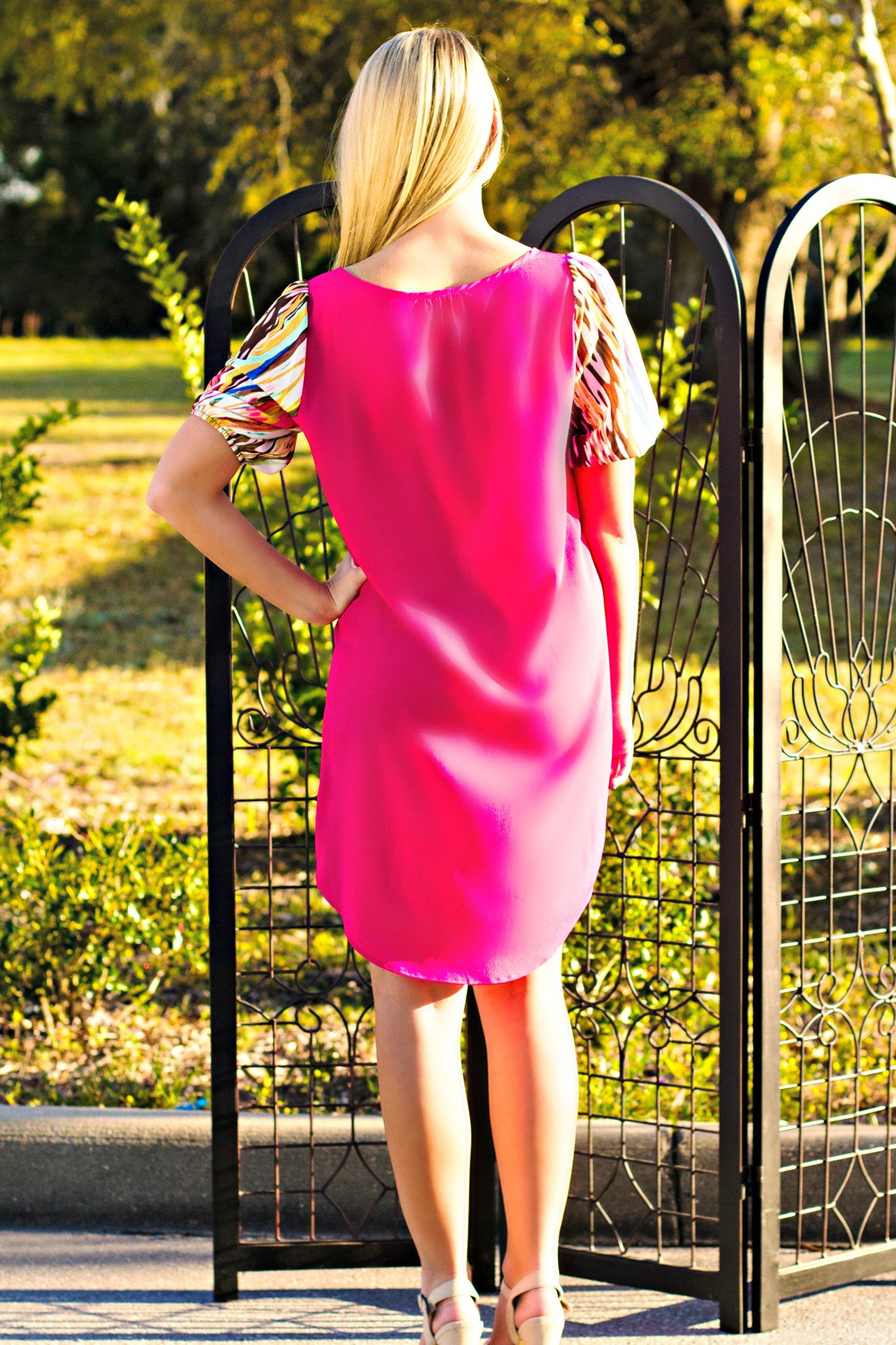 Glam: Carmen Dress, Pink