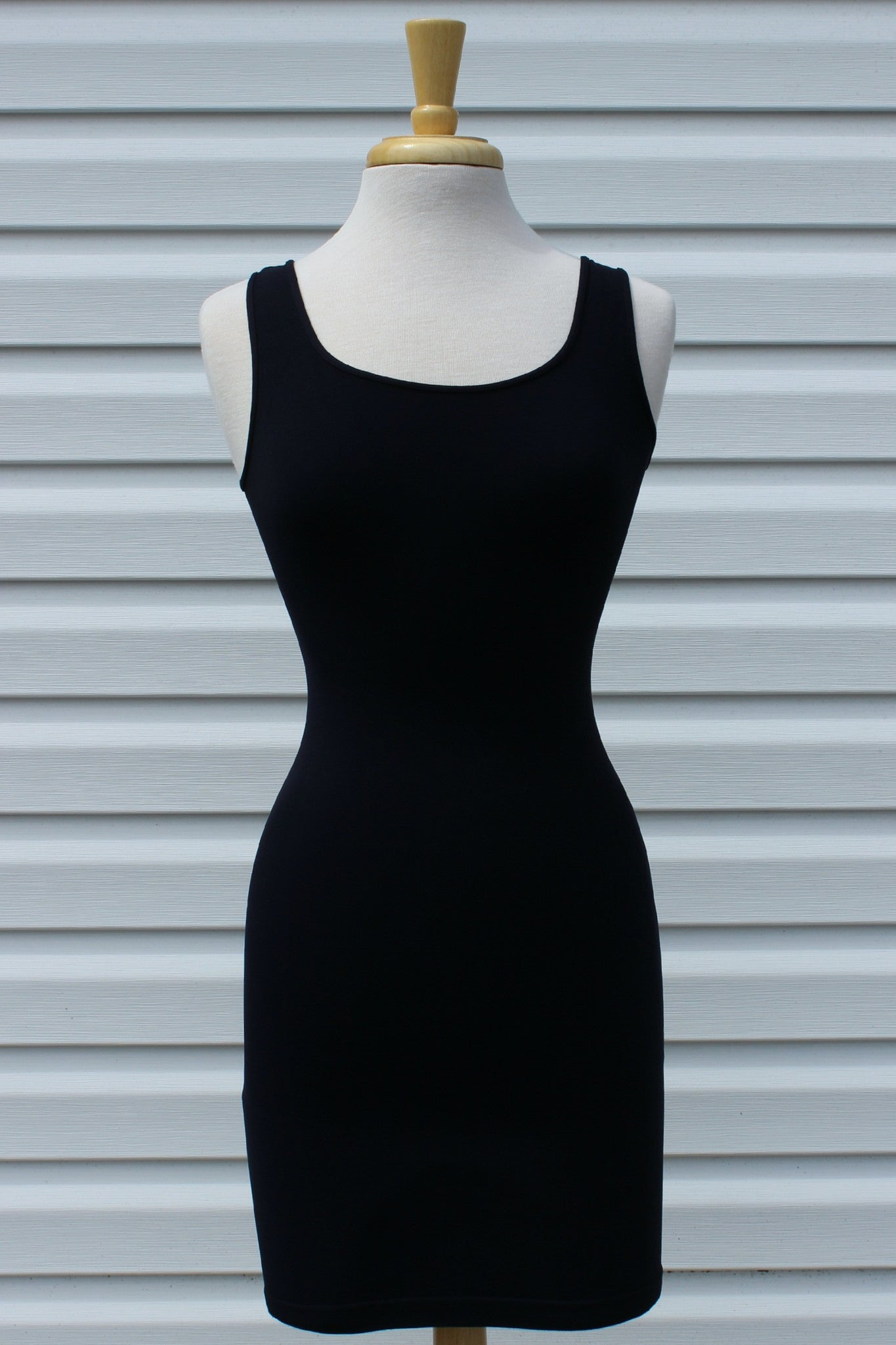 Tees by Tina: Tunic Slip Dress, Navy