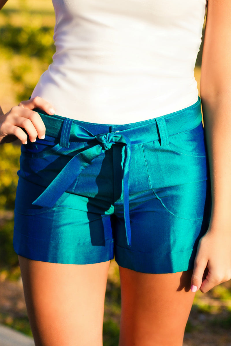 By Smith: Soho Shorts, Turquoise