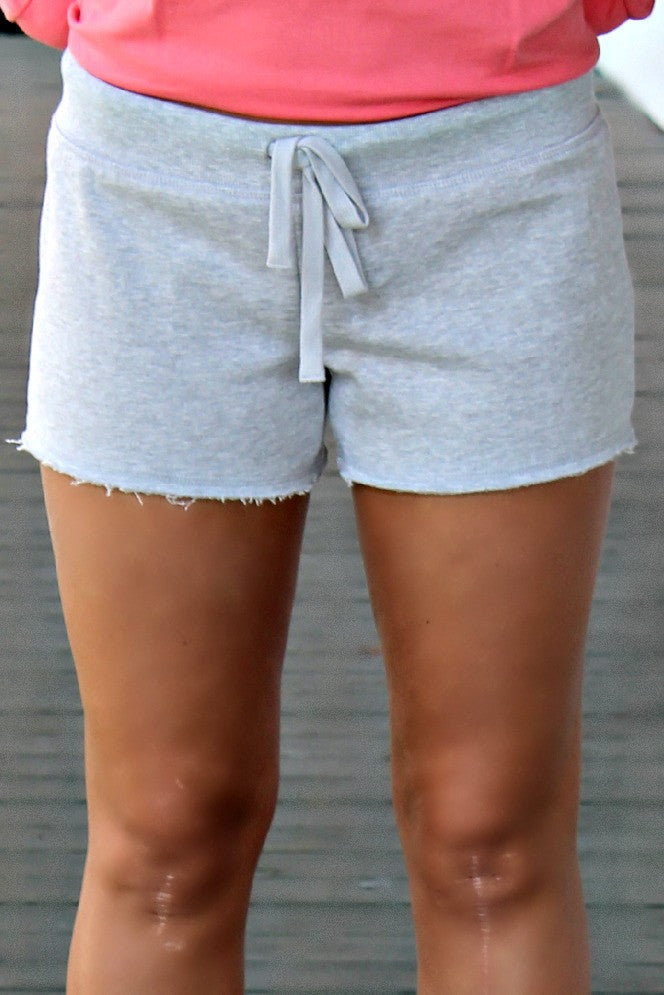 Lounge Shorts, Gray