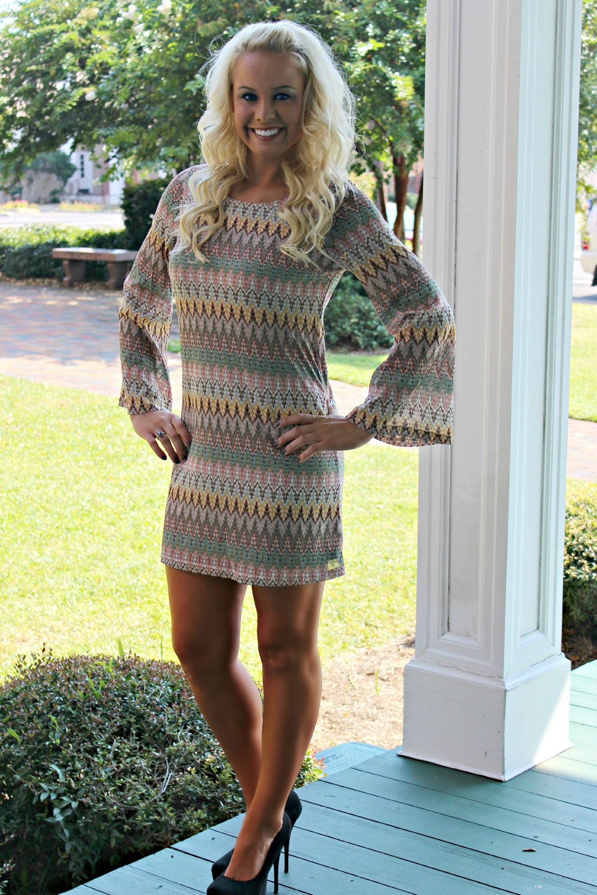 Catrina Dress, Multi