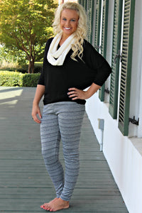 Morgan Leggings, Gray