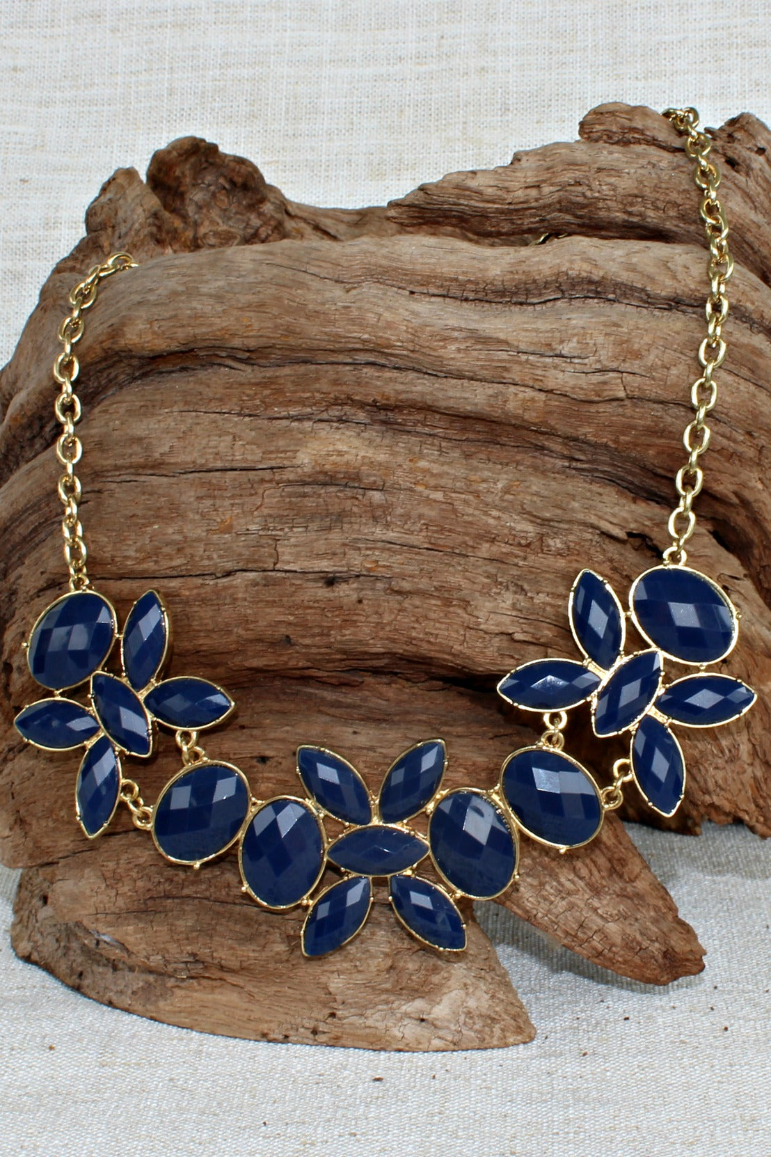 Necklace, Navy
