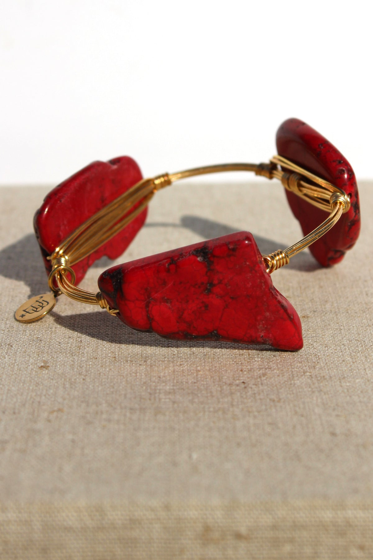 Bourbon and Boweties: Bangle, Red