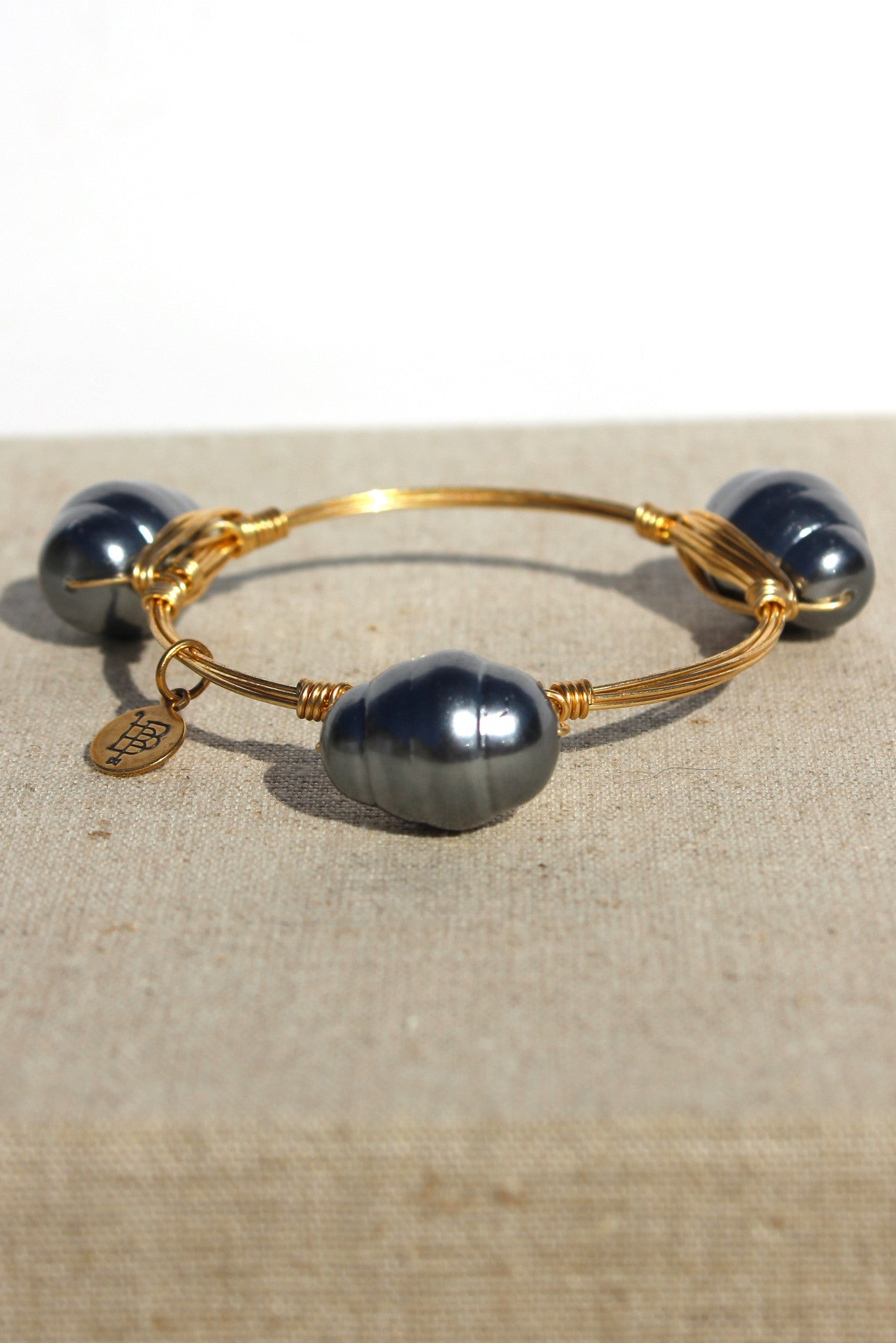 Bourbon and Boweties: Bangle, Pearl