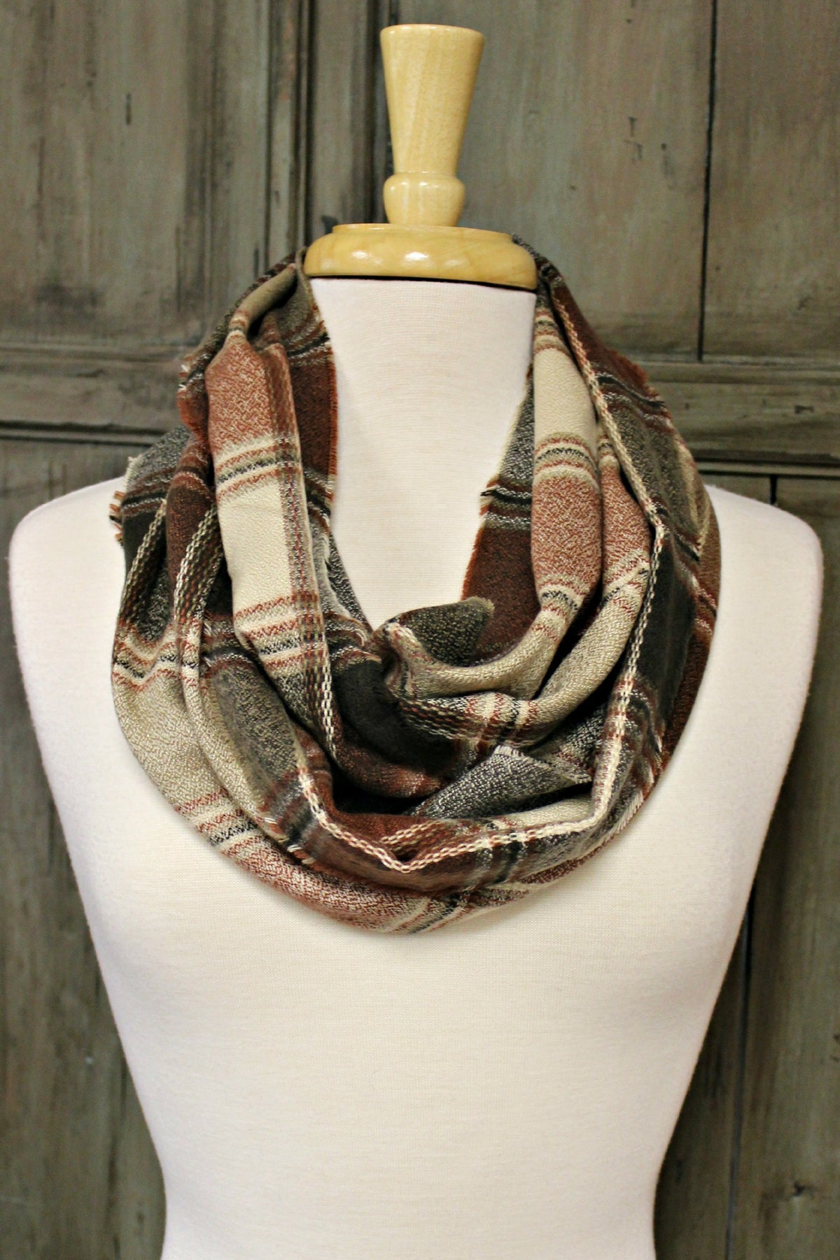 Infinity Scarf, Plaid