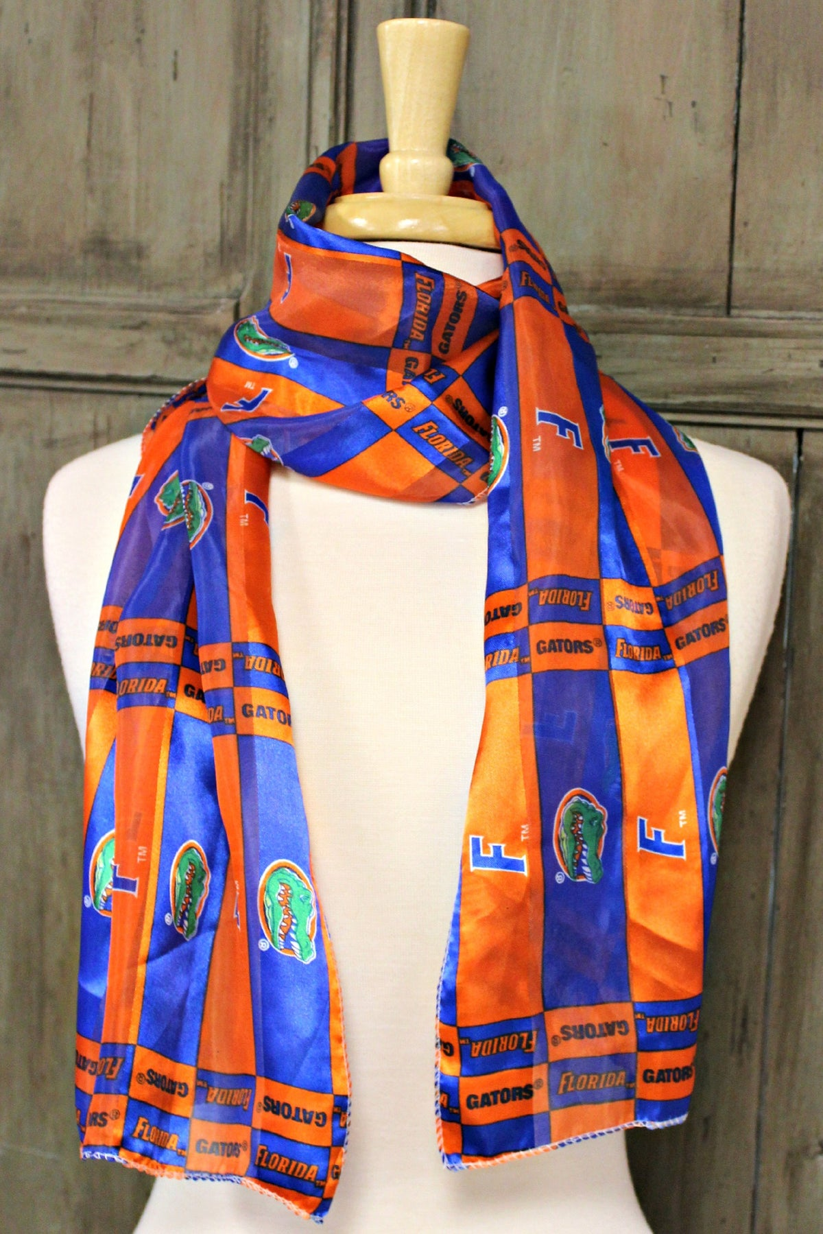 Florida Gators Scarf, Orange/Blue