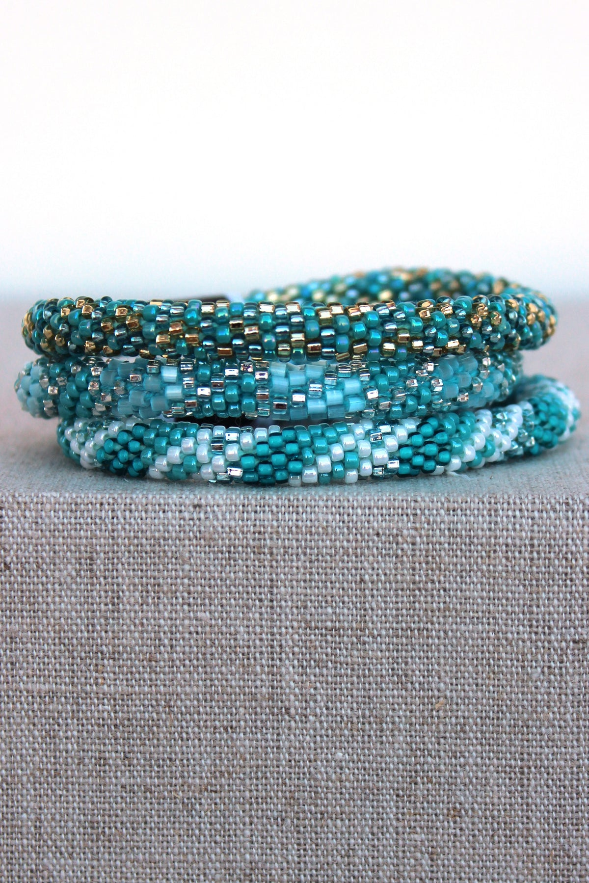 Lily and Laura: Bracelet Set, Turquoise