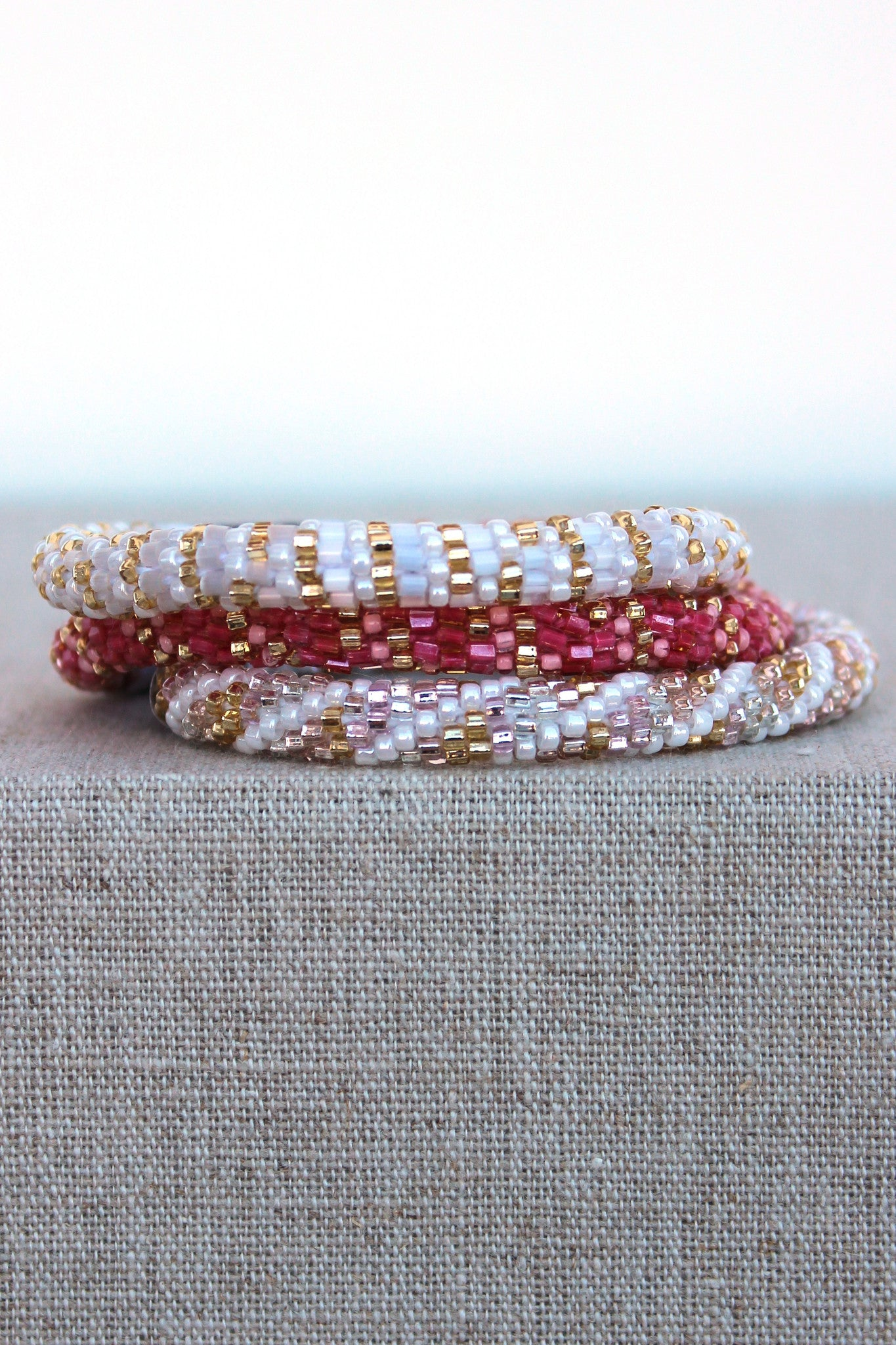 Lily and Laura: Bracelet Set, Gold