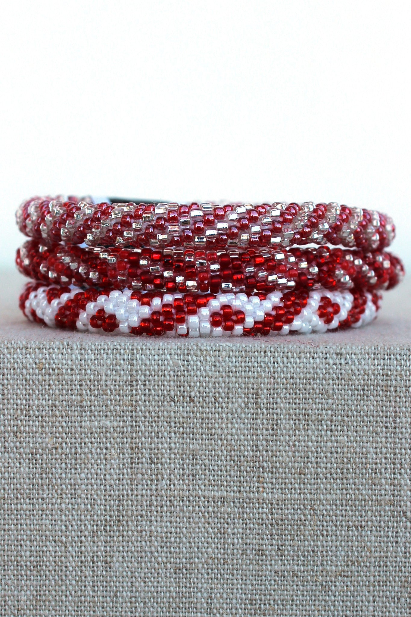 Lily and Laura: Bracelet, Red