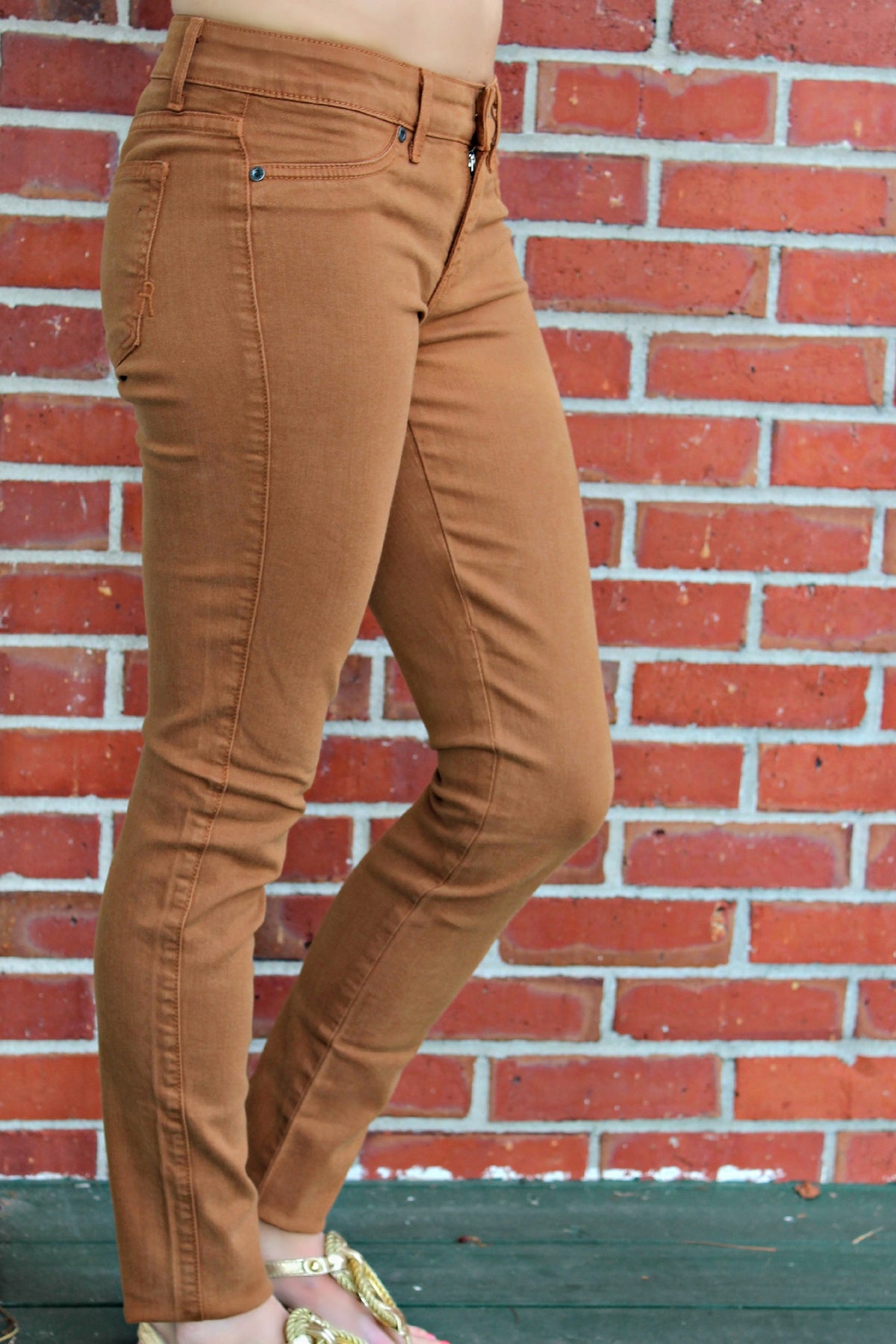 Rich and Skinny: Legacy Jeans, Brown