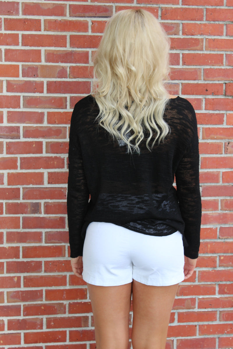 525 America: Ashlynn Sweater, Black