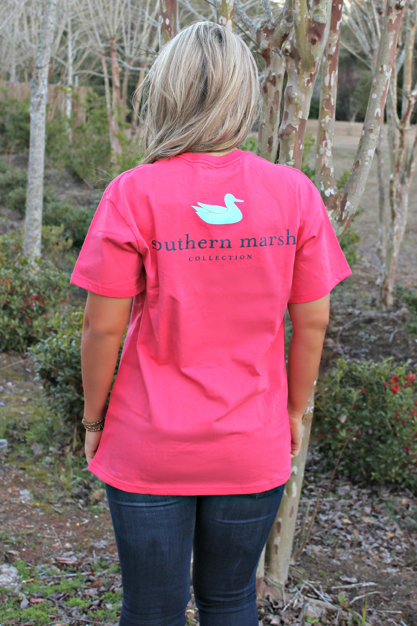 Southern Marsh: Authentic Tee, Strawberry Fizz