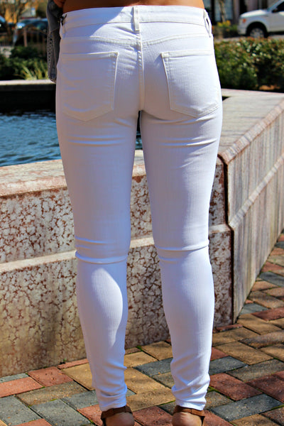 Rich and Skinny: Legacy Jeans, White