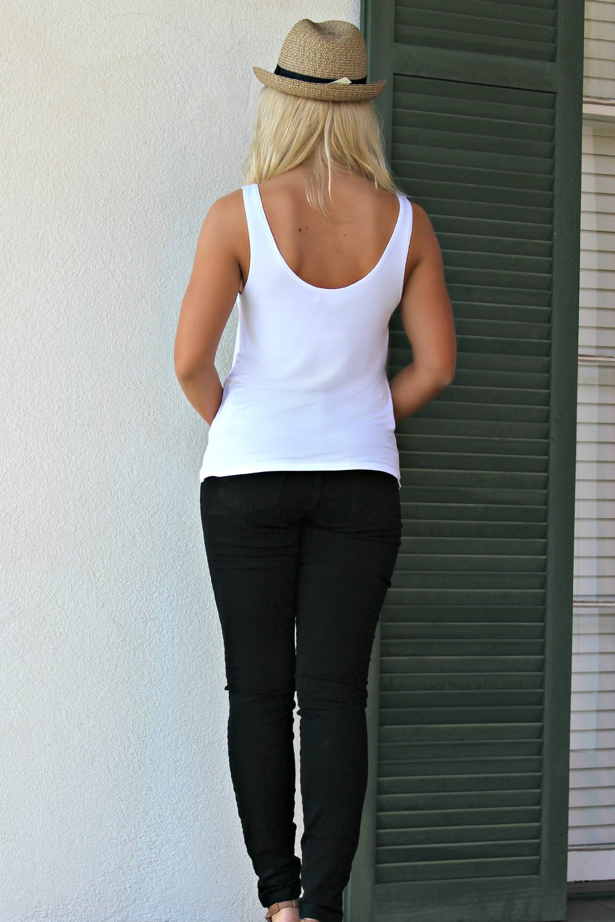 Piko: Tank Top, White
