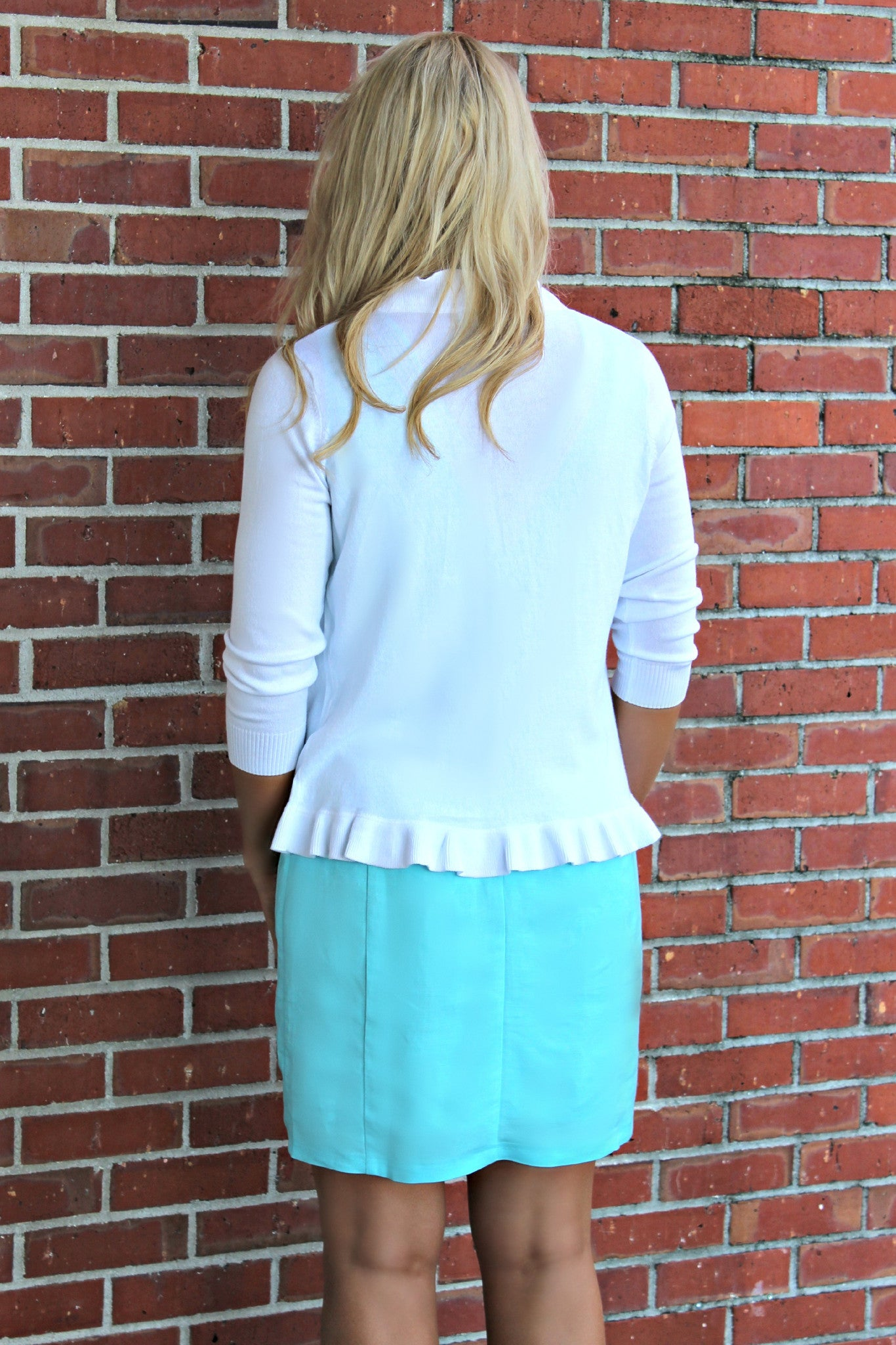 Jade: Kandy Cardigan, White