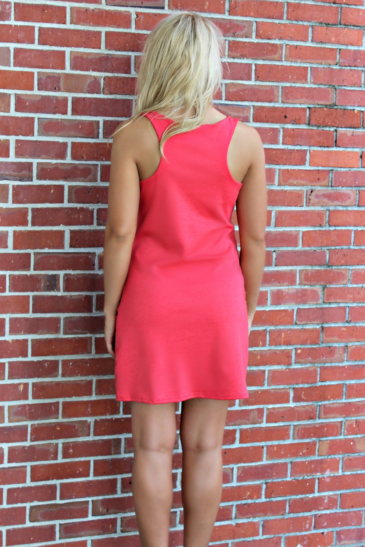 Judith March: Monique Dress, Coral