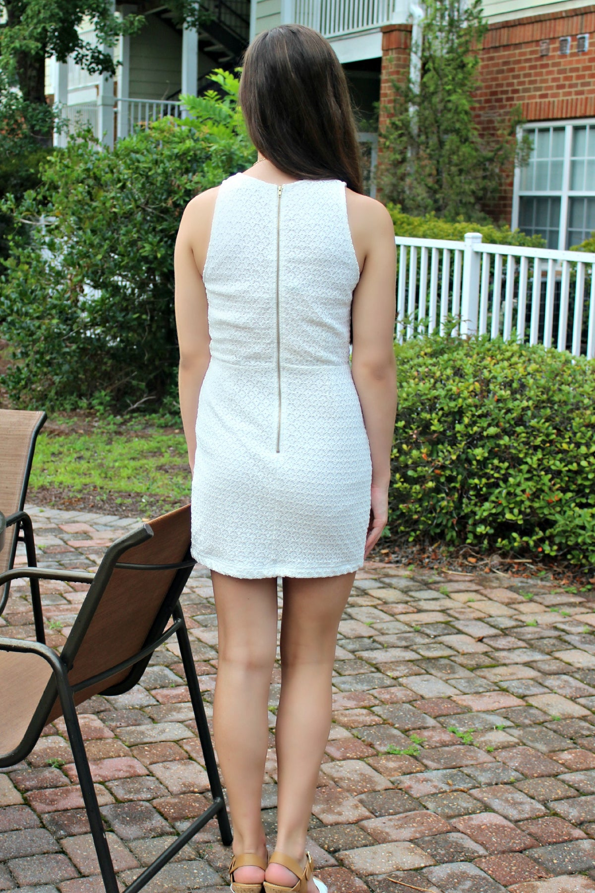 Mink Pink: Valerie Dress, Ivory