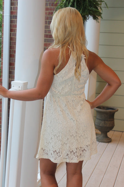Hadley Dress, Ivory