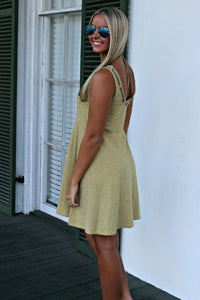Rhiannon Dress, Yellow