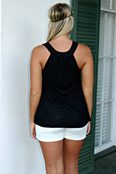 Kensie: Barbara Tank, Black