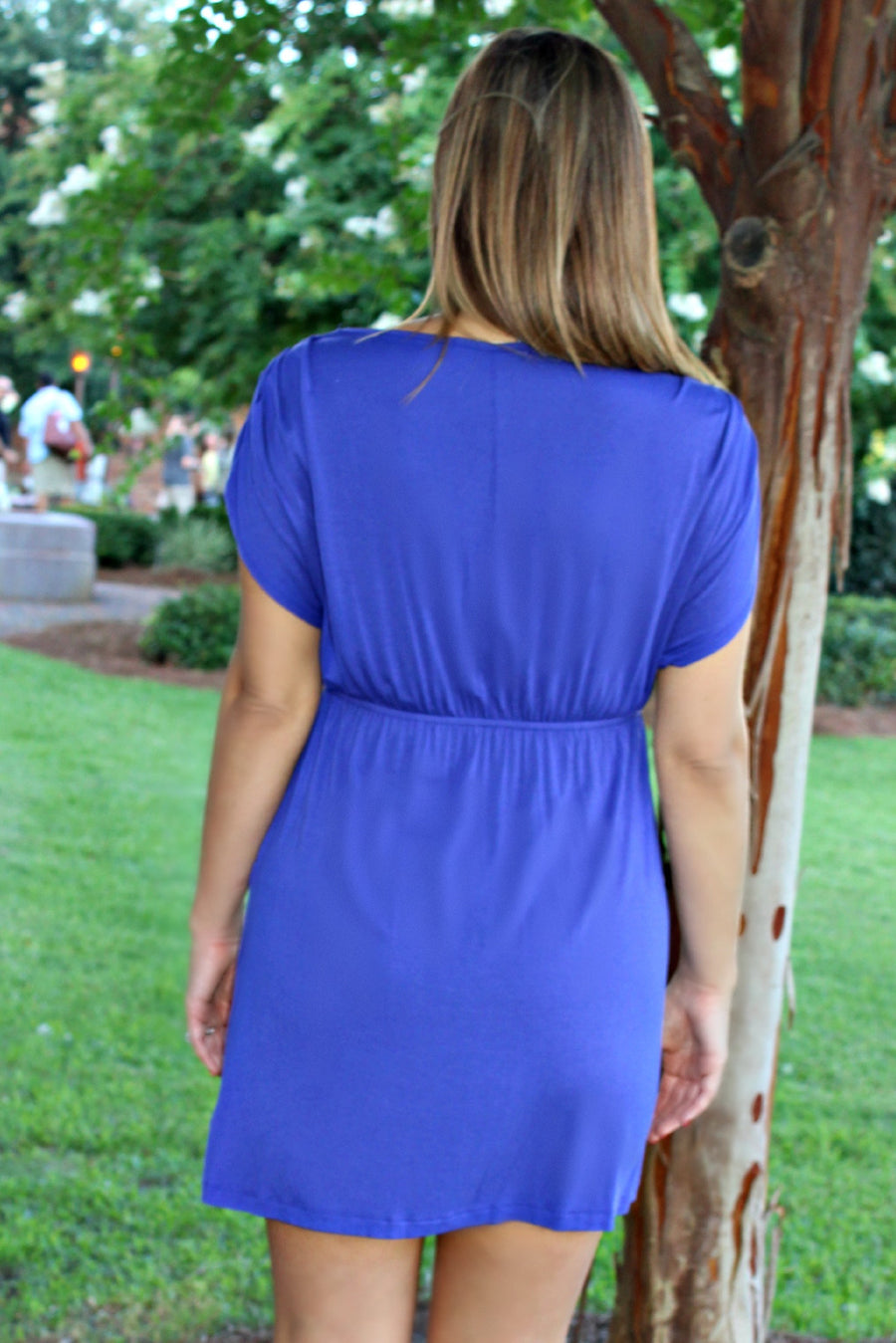 Marie Dress, Purple