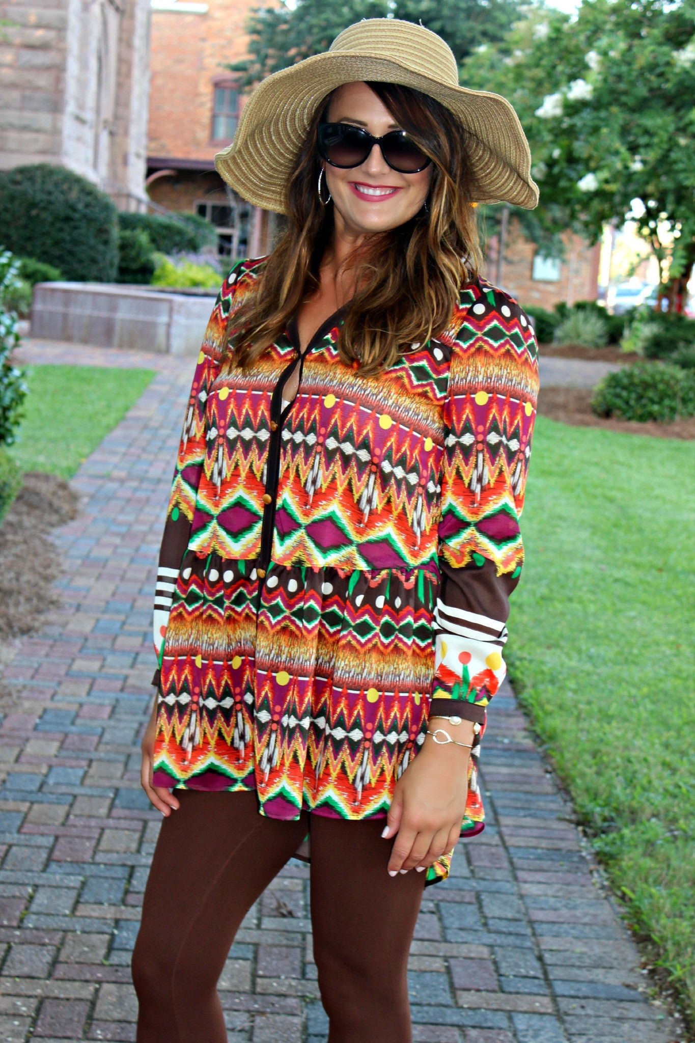Ivy Jane: Jenna Tunic, Multi