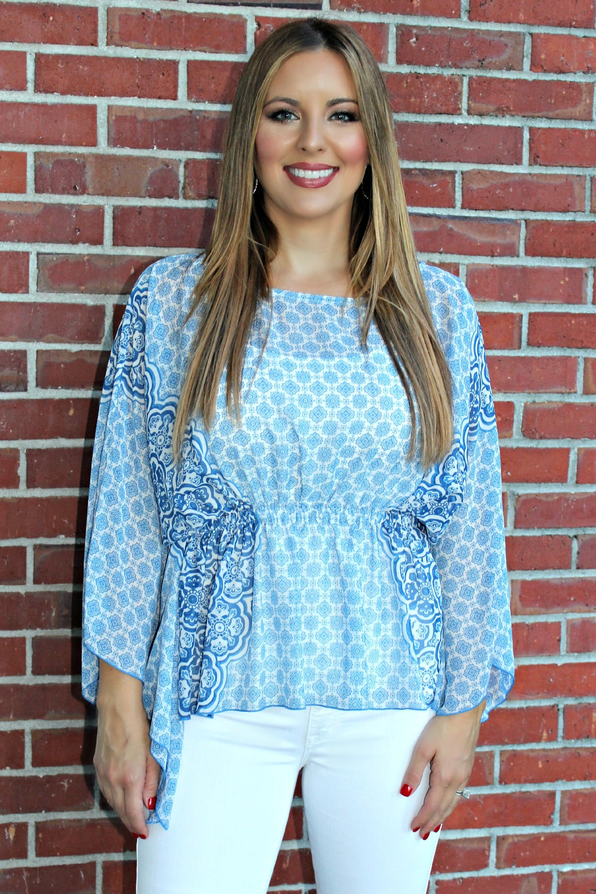 Ivy Jane: Teresa Top, Blue