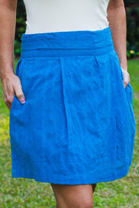 Southern Frock: Kinsley Skirt, Blue