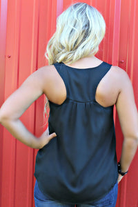 Bella Tank, Black