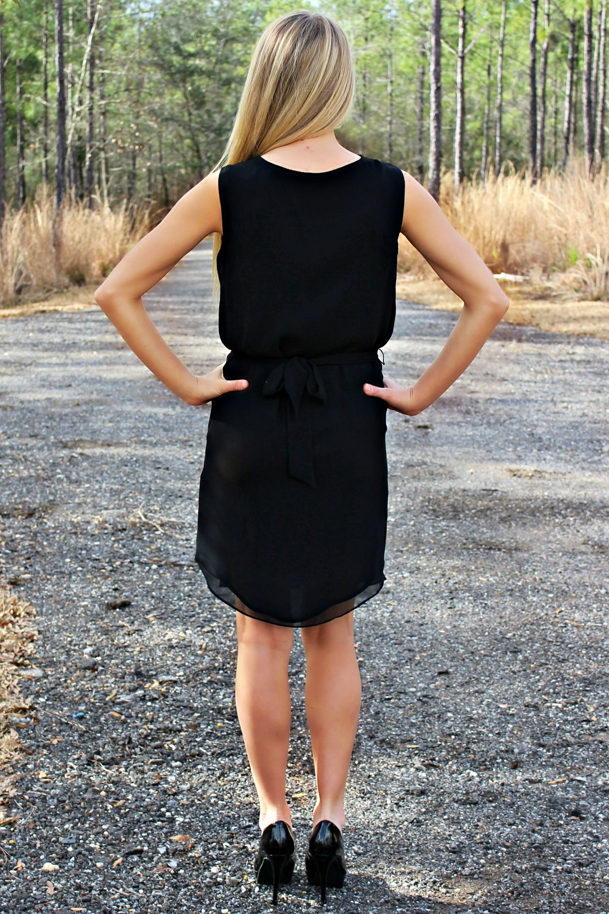 Mallie Dress, Black