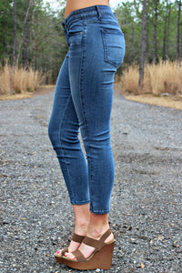Rich & Skinny: Coronado Crop, Denim